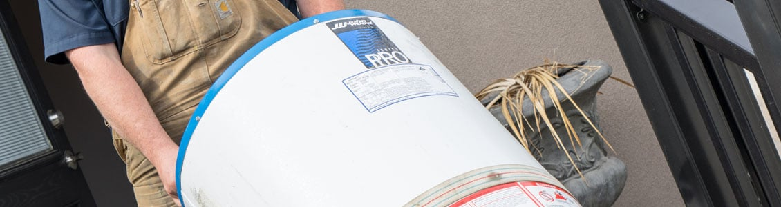 Slide water heater repair